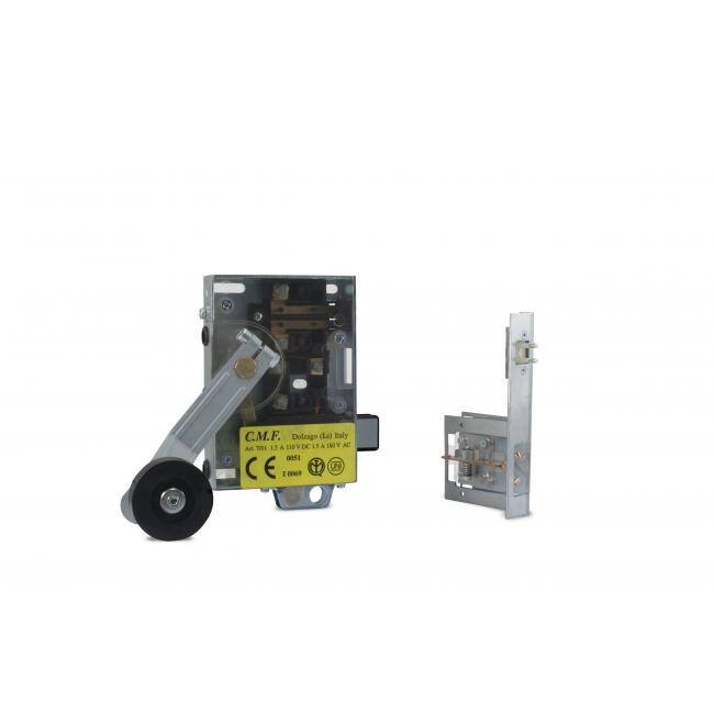 Preassembled semiautomatic homologated lock FIAM