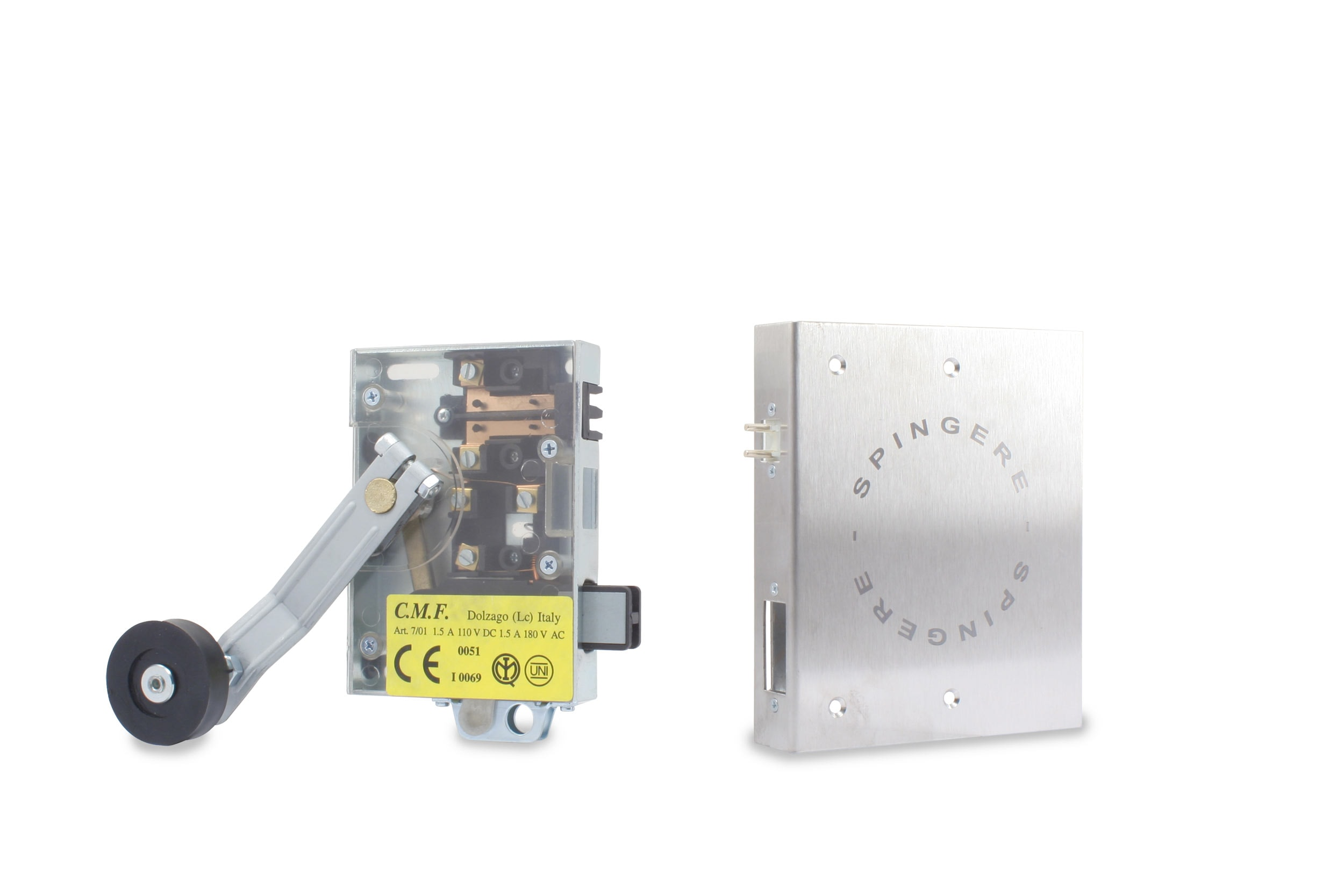 serratura DMG semiautomatica