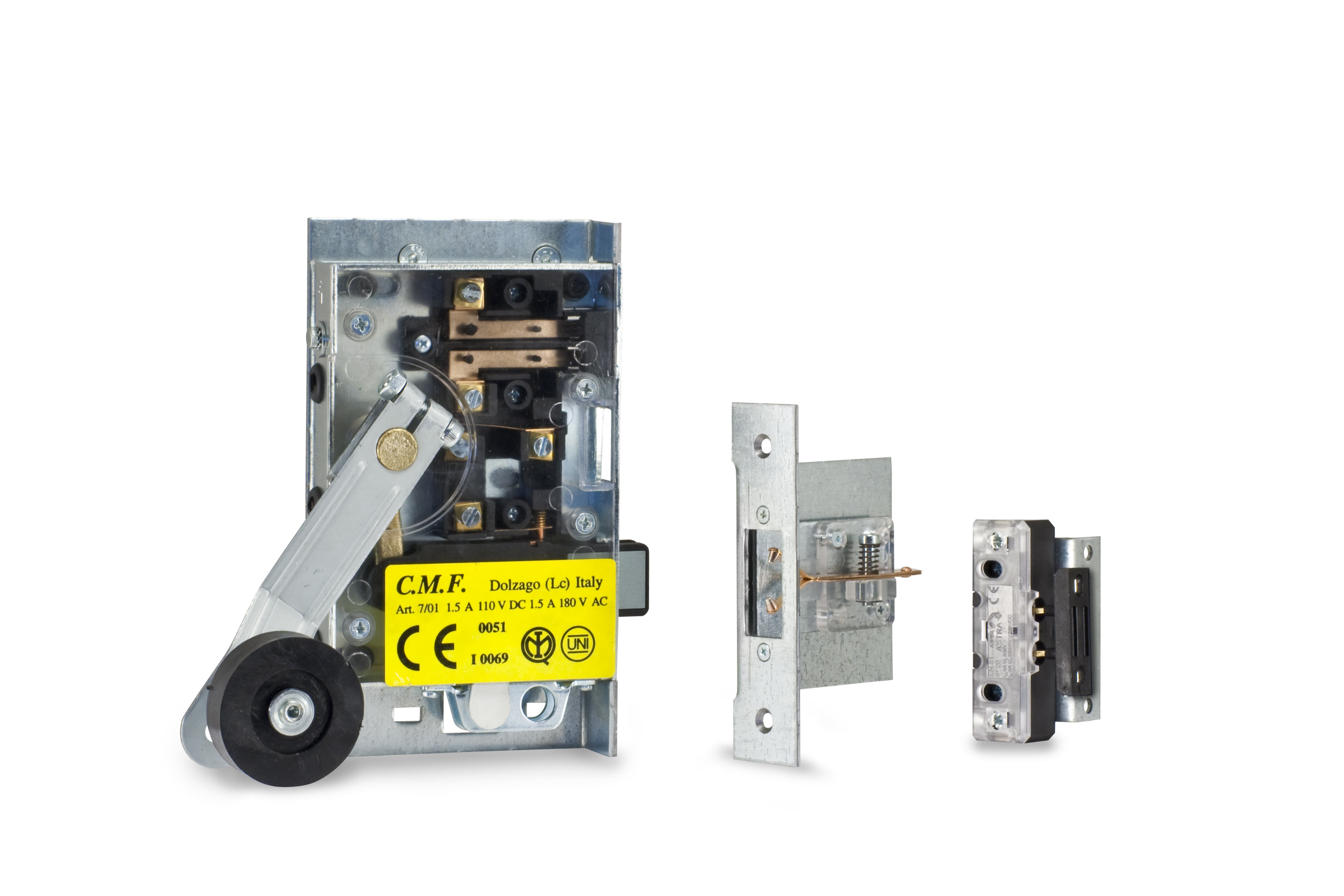 Kit sostituzione serrature BONFEDI semiautomatiche omologate