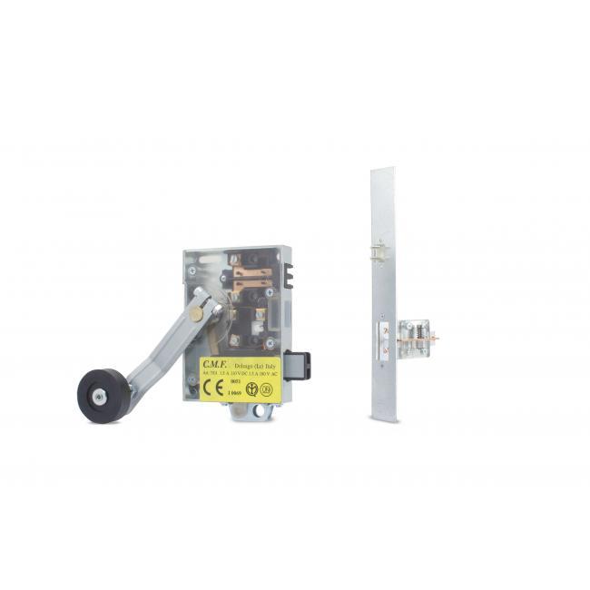 Semiautomatic homologated universal lock