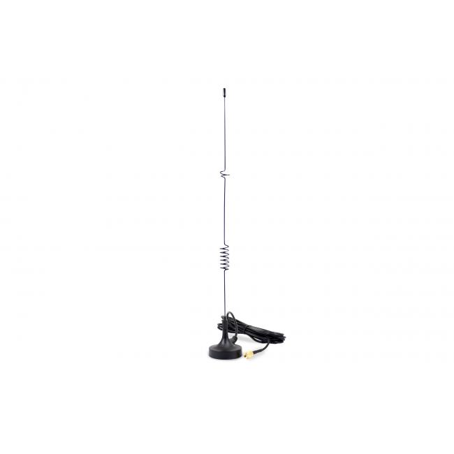 Amplified antenna for 2W teleassistance