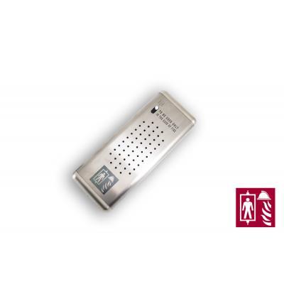 Vivavoce porter per telesoccorso 2W ascensori antincendio